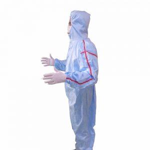 لباس ایزوله لمینت کرونا ضد تعریق